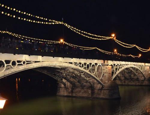 Vela de Triana en Sevilla